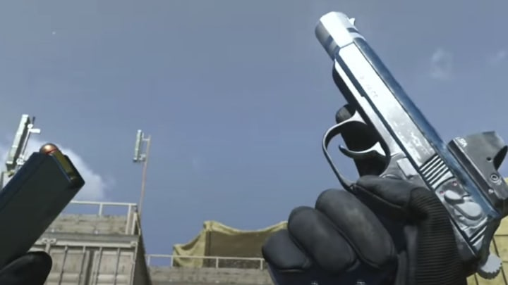 """New to Call of Duty: Warzone is the """"Monviso"""" Sykov Pistol Blueprint."""