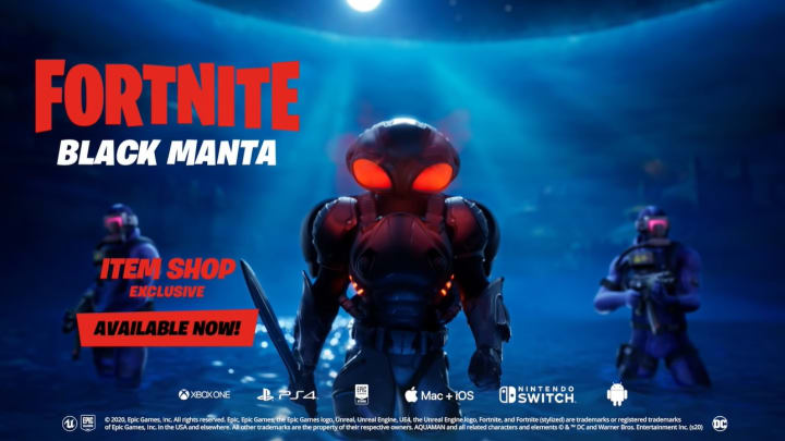 The Black Mantra trailer shows a possible underwater point of interest.