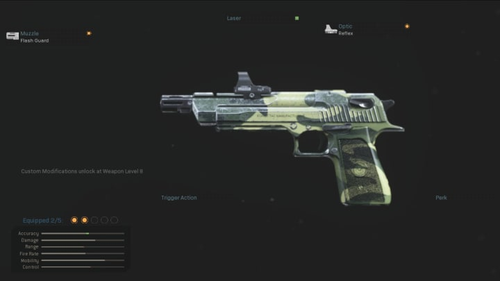 The .50 GS in Warzone.