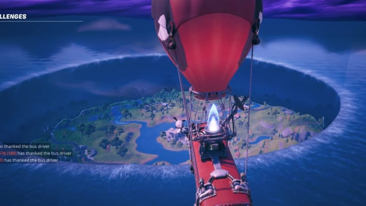 The Fortnite event leading into Chapter 2 Season 3 took place today at 2 p.m. ET, bringing with it a massive change to the map.