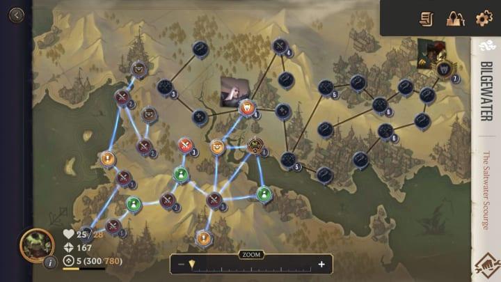 Legends of Runeterra The Saltwater Scourge map
