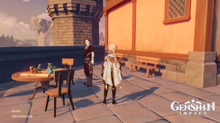 Genshin Impact NPC Gygax Windtrace event