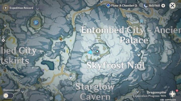 Genshin Impact map