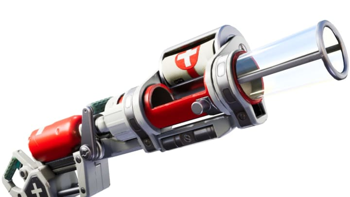 The Bandage Bazooka took the place of one player's harvesting tool.