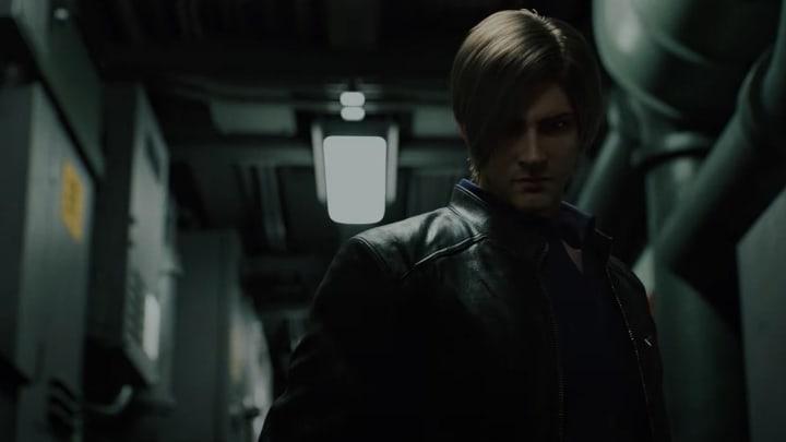 Leon in the new Resident Evil Infinite Darkness trailer