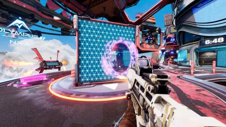 A player's portal in Splitgate