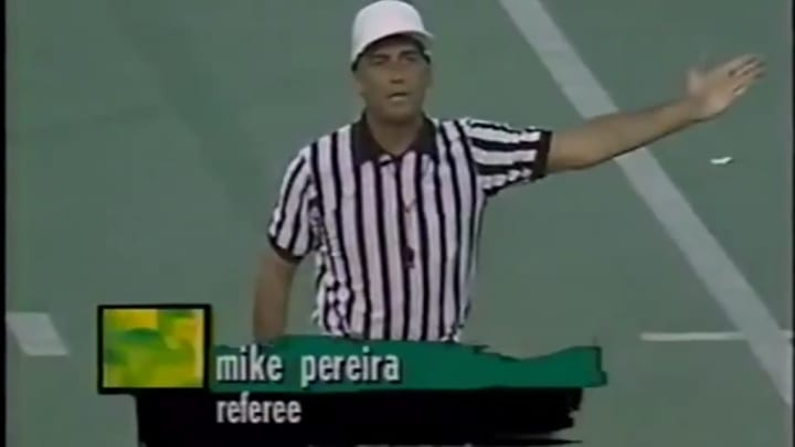 Mike Pereira, referee.