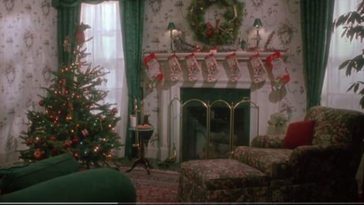 Christmas at the McCallister residence.