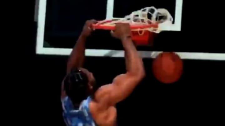 Myles Garrett dunking.