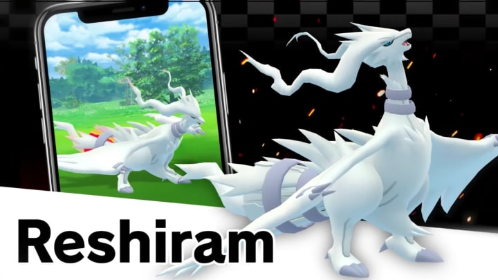 Reshiram is coming to raids in Pokémon GO. Here's how to catch it.