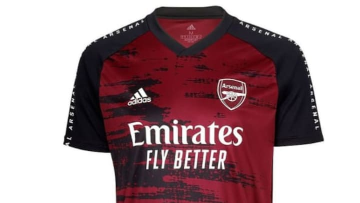 Arsenal's training kit is rather suave
