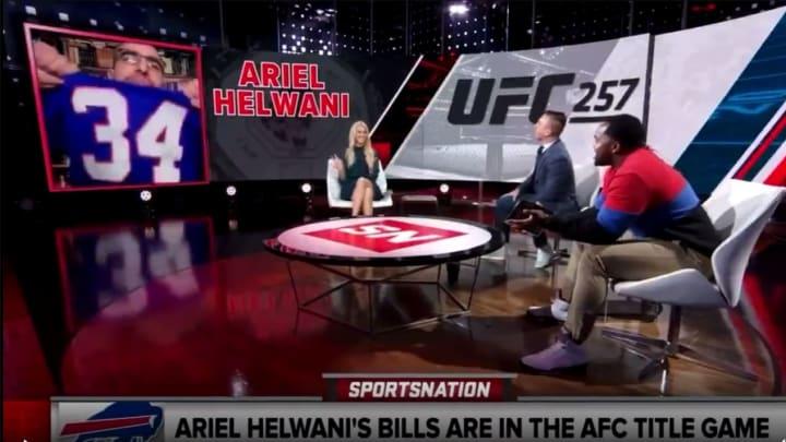 Ariel Helwani on SportsNation.