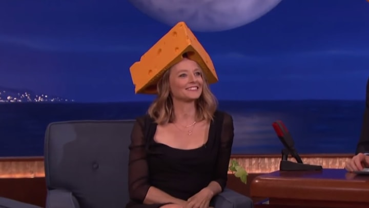 Jodie Foster, cheesehead.