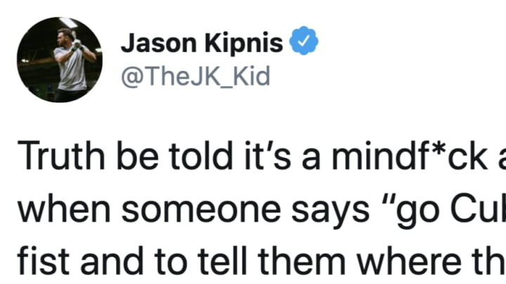 Jason Kipnis isn't all in on being a Cubs fan right now