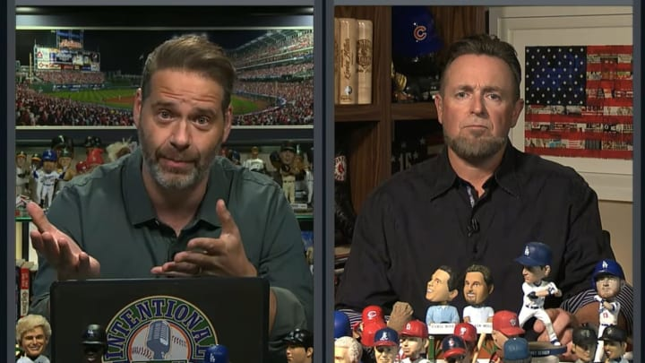 """Chris Rose and Kevin Millar on """"Intentional Talk"""""""
