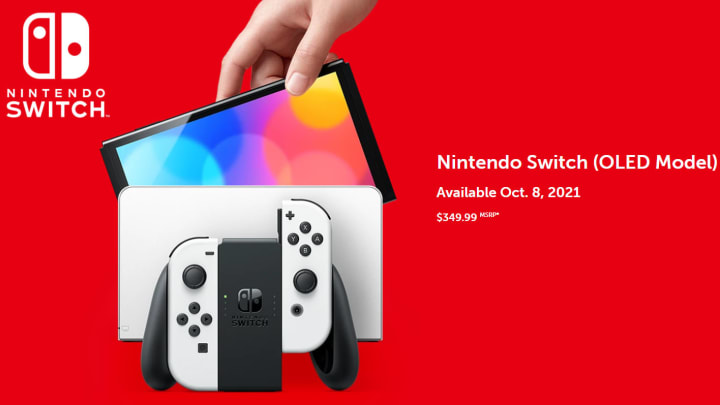 Nintendo has confirmed it will be reducing the price of the original Switch console across Europe following the release announcement of the OLED model