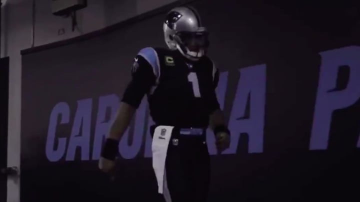Cam Newton released his own tribute to his time with the Carolina Panthers.
