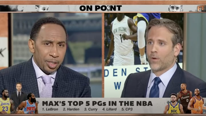 Stephen A. Smith and Max Kellerman on 'First Take.'