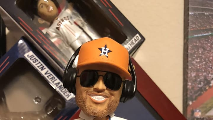 """The Houston Astros made a """"DJ"""" George Springer bobblehead for some reason."""