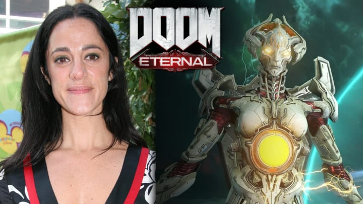 DOOM Eternal's Khan Makyr is none other than Nika Futterman