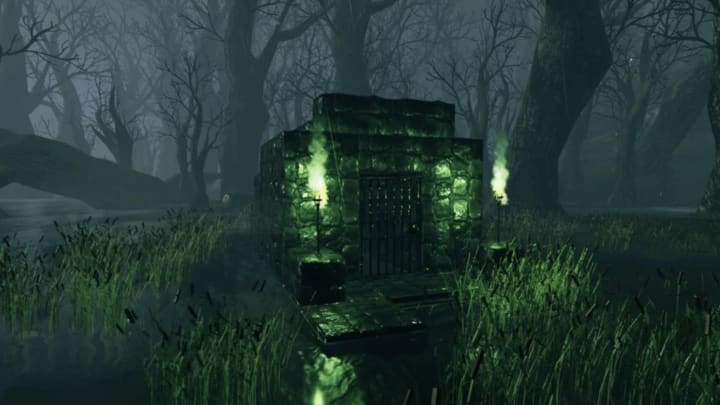 The final place to find these valuable pearls is in the swamp, the Sunken Crypts to be exact.