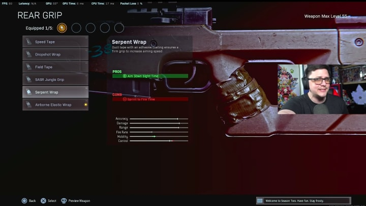 Popular Warzone YouTuber JGOD recently revealed that an attachment in Warzone is giving snipers a major boost in strength.