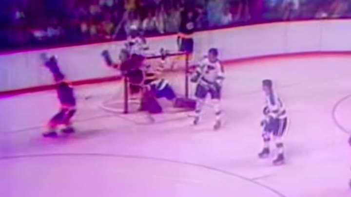 Looking back at 'The Goal' by Bobby Orr which clinched the Bruins' Stanley Cup victory in 1970.