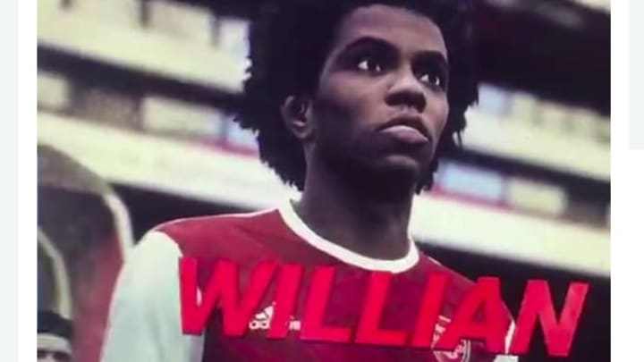 A PES 2021 video appears to show Willian in Arsenal colours