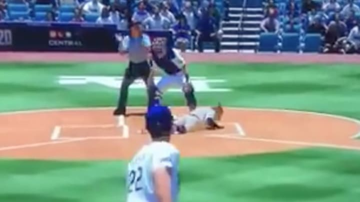 Even MLB The Show is endorsing Astros batters being beaned