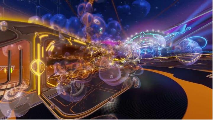Rocket League's new Inamorata Goal Explosion