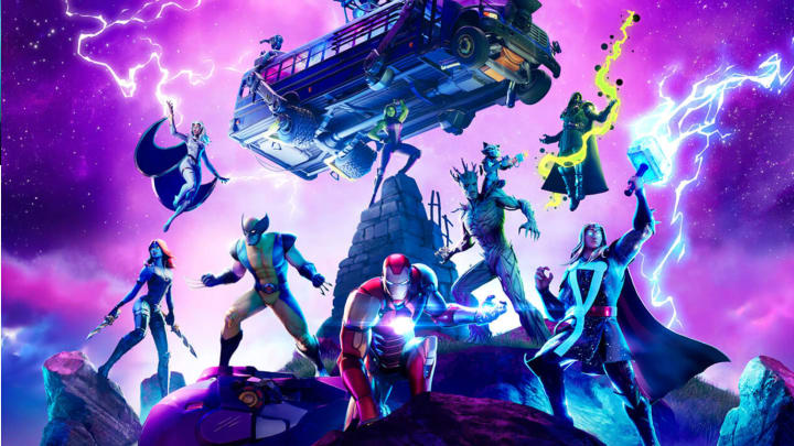 Fortnite Marvel Knockout LTM pits superpower-wielding teams against each other.