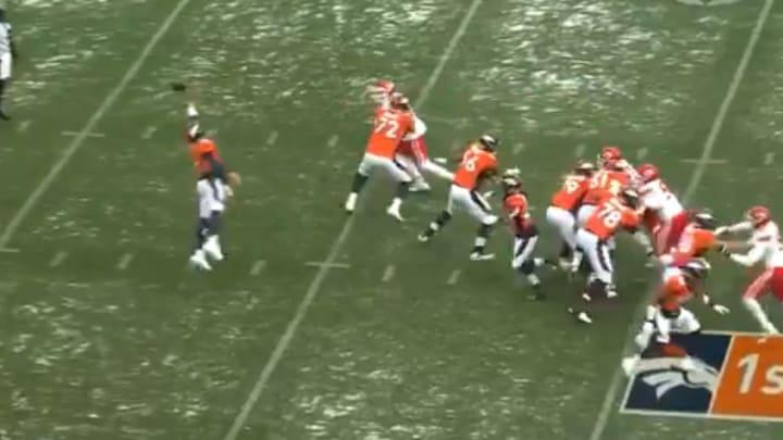The Denver Broncos botch a flea flicker