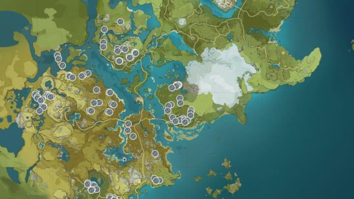 Genshin Impact Violetgrass Location Guide