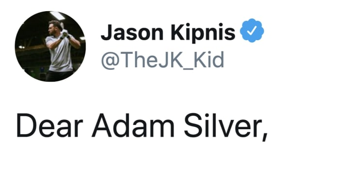 Jason Kipnis seems to favor Adam Silver over Rob Manfred