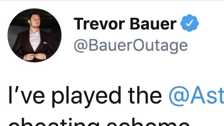 Trevor Bauer is still taking shots at the Houston Astros