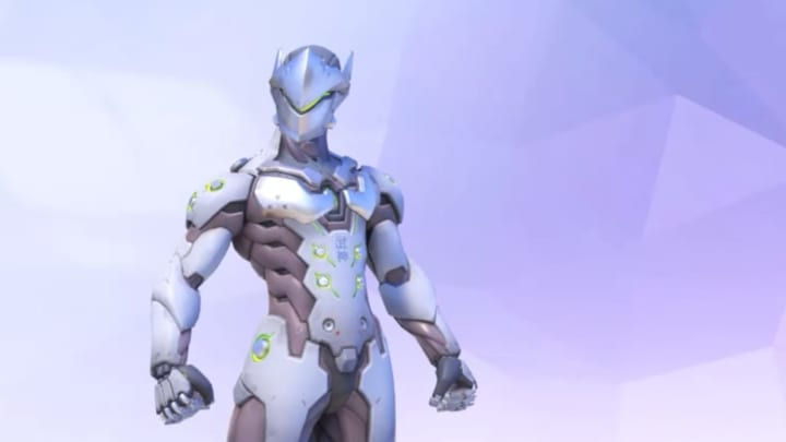 """Despite using projectiles, Genji is a hero that shines when using """"Nanoblade,"""" a combo of his and Ana's ultimate."""