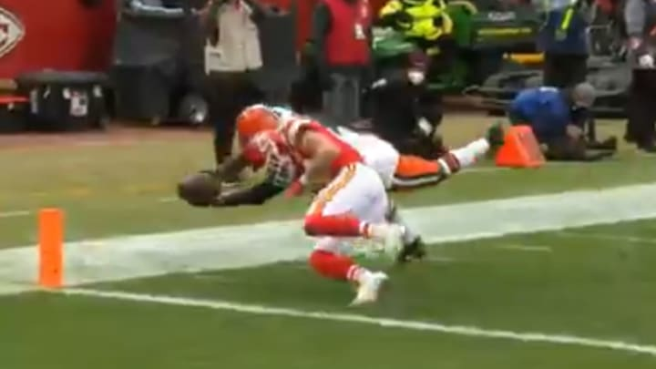 Refs Missed Obvious Penalty on Browns Fumble Into the End Zone