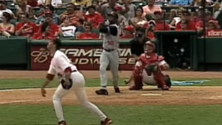 On this date 16 years ago, Ken Griffey Jr. hit his 500th career home run.