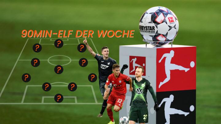 Die Topelf vom 28. Bundesliga-Spieltag