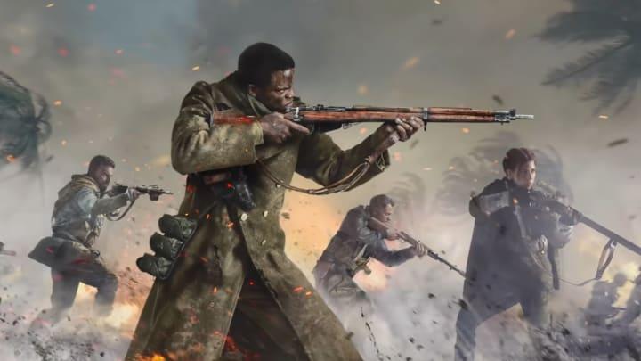 Still frame from Call of Duty: Vanguard release teaser