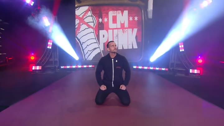 CM Punk on AEW Rampage in Chicago