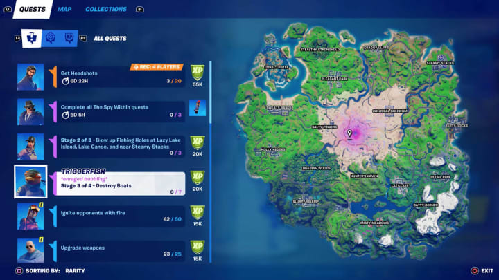 Here's how to complete the Destroy Boats Week 6 challenge in Fortnite Chapter 2 Season 5.