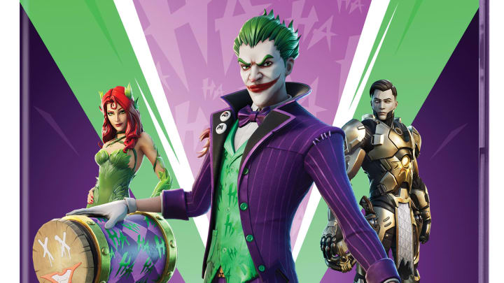 Fortnite: The Last Laugh Bundle launches as a physical release Tuesday.