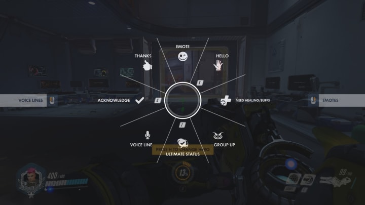 How to say no in Overwatch using the new communication wheel.