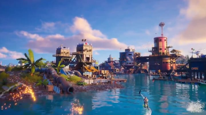 Sweaty Sands returns with Fortnite map changes.