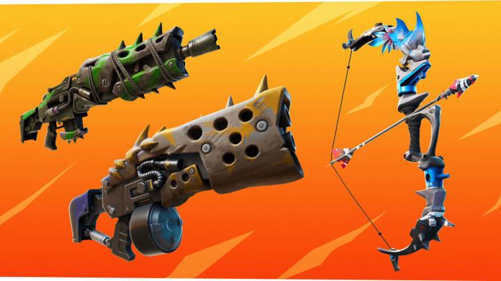 Fortnite players can now craft a variety of weapons.