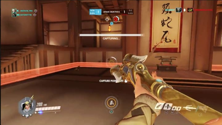 This Mercy takes advantage of a clueless enemy team that prefers to fight on an already-captured Point A.