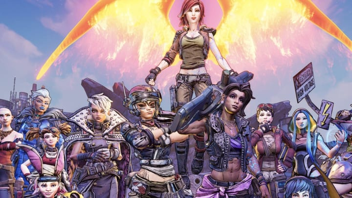The leading women of Borderlands.