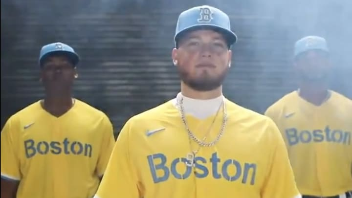 New Red Sox City Edition Jerseys