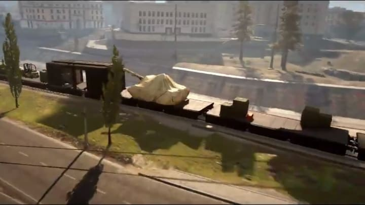 Season 5 of Warzone sees new train added to Verdansk.
